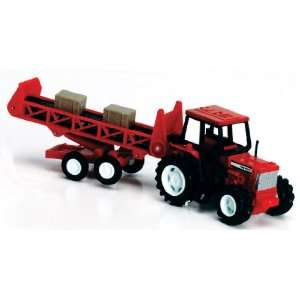 Country Life Red Farm Tractor with Conveyor Playset 132