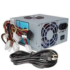 A Power Gamer 480 Watt 20+4 pin Dual Fan ATX Power Supply
