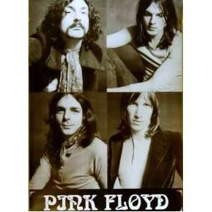 Pink Floyd 4 Pics Classic Roger Waters 24x34 Poster