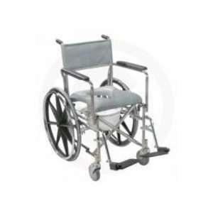 Drive Medical Rehab/Shower Commode Chair Full Arm Rem   Model rs185002
