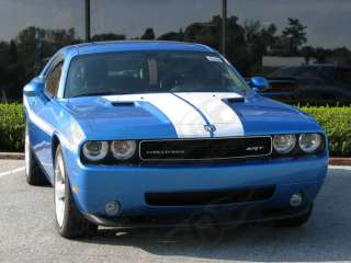 2008 & Up Dodge Challenger Hood Stripes Decals