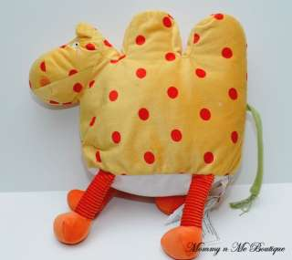 Ikea Barnslig Kamel Yellow Red Dots Camel Plush Toy