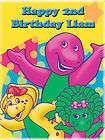 BARNEY Edible CAKE Image Icing Topper Birthday
