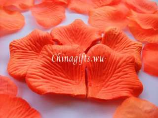 Multi colors& quantities rose petals wedding decoration