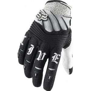 Fox Racing Girls Elite Glove [White/Black] XL(11) White