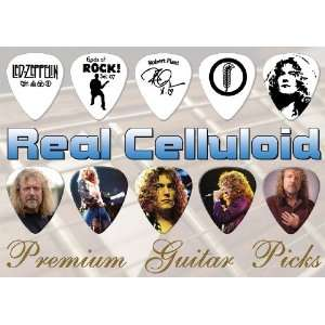 Robert Plant Premium Guitar Picks X 10 (H) Musical