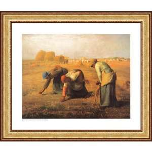 Easy Apply Wall Sticker Painting  The Gleaners, Jean Francois Millet