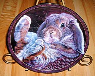 Listing is for the Complete set of Bunny Tales Plates (Set of 12