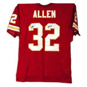 Marcus Allen Kansas City Chiefs Autographed Red Jersey