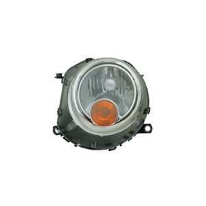 Mini Cooper Passenger Side Replacement Headlight