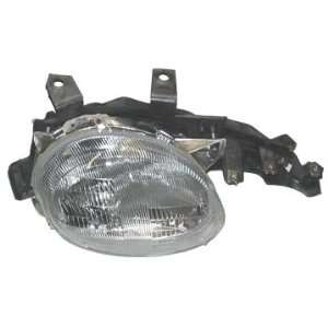 OE Replacement Dodge/Plymouth Passenger Side Headlight Lens/Housing