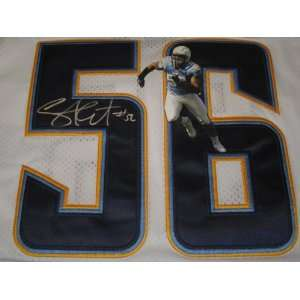 Shawne Merriman Signed Autographed San Diego Chargers