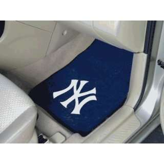 MLB   New York Yankees   Car Mats 2 Piece Front Sports