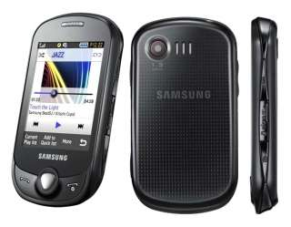 NEW IN BOX SAMSUNG GT C3510 GENOA BLACK UNLOCKED GSM PHONE