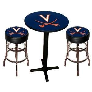 Virginia UVA Cavaliers Pool Hall/Bar/Pub Table   Black