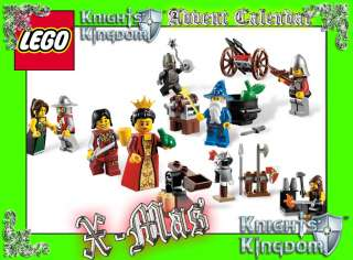 Lego 7952 Advent Calendar KINGDOMS Series 8 Minifigures