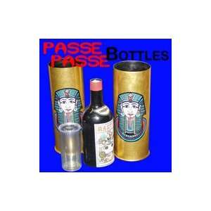 Passe Bottles Set Deluxe Stage Magic Tricks Easy