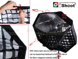 80cm Octagonal HONEYCOMB GRID for Speedlight Flash Umbrella Soft Box