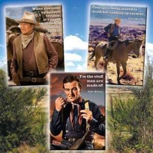 John Wayne Kitchen Fridge Metal Magnets 3 Pcs Set