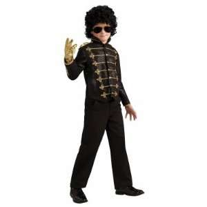Michael Jackson Deluxe Black Military Jacket Child