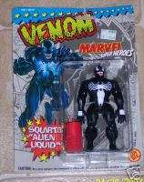 Marvel Super Heroes Venom spiderman moc TOYBIZ