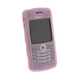 Silicone Skin Case for Blackberry Pearl 8100, Pink Electronics
