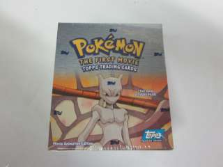Pokemon The First Movie Trading Cards Sealed Box