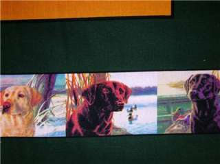 New Labrador Retriever Dog Hunting Fabric Pillow Panel