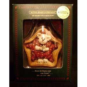 Boyds Bears & Friends Longaberger 2002 Twinkles Starbeary Christmas