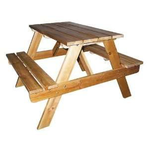 Kids Indoor/Outdoor Picnic Table