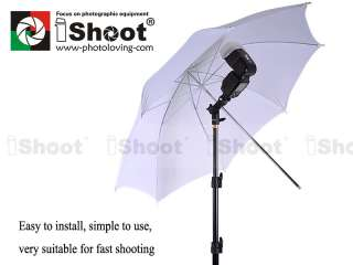 2m Light Stand+Flash Mount+Soft Box Umbrella+Carry Bag