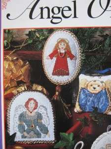 Christmas Cross Stitch Angel Tree Topper & Ornaments