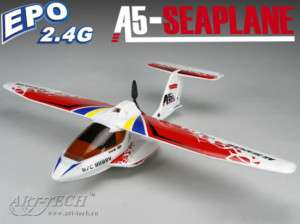 Art Tech RC 2.4Ghz ICON A5 Amphibian EPO Sea Plane RTF