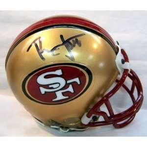 Ronnie Lott Autographed / Signed 49ers Mini Helmet Sports