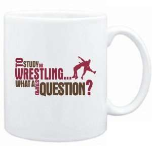 New  To Study Or Wrestling  What A Stupid Question