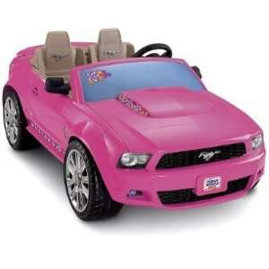 Fisher Price® Power Wheels Barbie Ford Mustang Toys