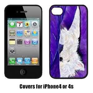 West Highland White Terrier Westie Phone Cover for Iphone 4 or Iphone