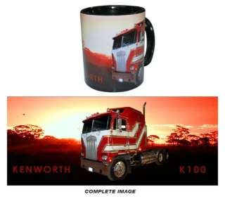 KENWORTH TRUCK K100 Cab Over Coffee Mug