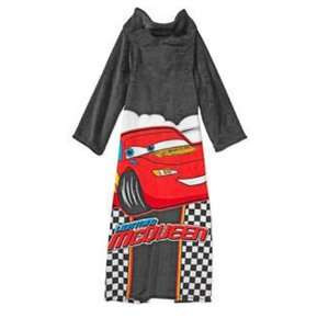 Disney Pixar Cars Lightning Mcqueen Robe Plush Wrap with
