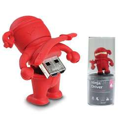 Bone Collection Ninja 4GB USB Flash Drive