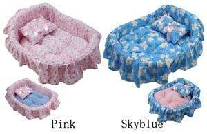 Cute Cozy Decorative Pattern Princess Small Dog Bed DBD