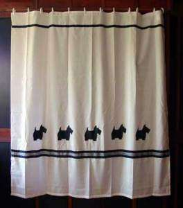 Scottish Terrier dog Shower Curtain