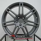 18 RS4 Wheels Rims Matte Gunmetal Fit Audi Allroad