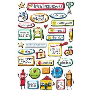 Kindergarten Epoxy Stickers Arts, Crafts & Sewing