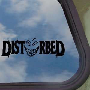 Disturbed Black Decal Rock Band Car Truck Window Sticker