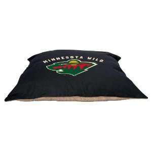 Minnesota Wild 27x36 Plush Pet Dog Bed / Large Pillow Pet