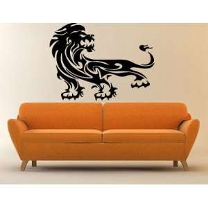 Lion King of the Jungle Proud Animal Posture Decor Wall