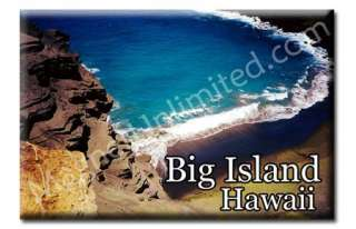 BIG ISLAND   HAWAII Souvenir Fridge Magnet #2