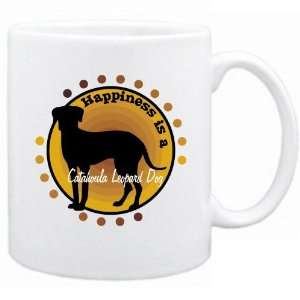 New  Happiness Is Catahoula Leopard Dog  Mug Dog