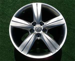 Perfect Genuine OEM Factory Lexus GS430 GS350 18 inch HyperSilver